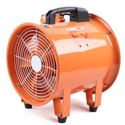 Explosion Proof Fan Extractor Blower Axial Flow Ventilator 12 Inch 110v 370w Us