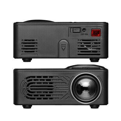 Portable 1080P HD Projector Smart Home Theater HDMI Compatible USB AV Video