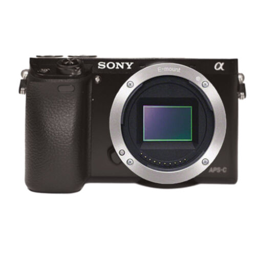 Sony Alpha a6000 24.2MP Mirrorless Digital Camera (Body Only) + Built-in Wi-Fi
