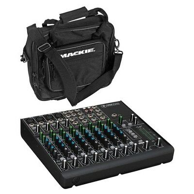 Mackie 1202VLZ4 12 Channel Compact Mixer + Mackie 1202 VLZ D Padded Mixer Bag Mackie Powered Mixer Bag