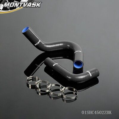 Silicone Radiator Hose Kit Fit For 1949 - 1954 CHEVY FLEETLINE/BEL AIR V8 Black (Air Cooling System Parts)