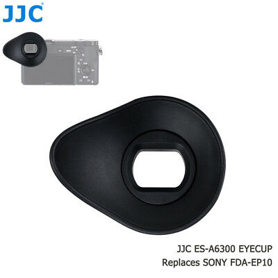 JJC ES-A6300 Silicagel Oval Large Eyecup replace Sony FDA-EP10 for A6300 A6000