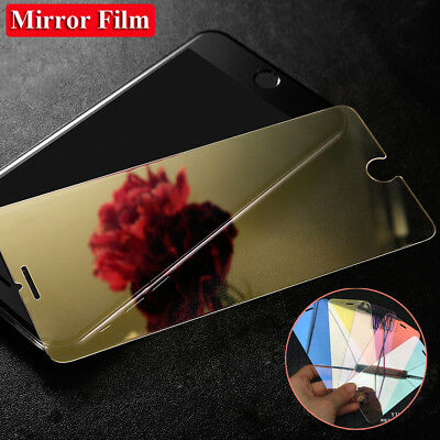 9H Anti-Glare Mirror Tempered Glass Screen Film Protector for iPhone XS Max XR/X Iphone Anti Glare Screen Protector