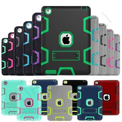 Kids ShockProof Armor With Built In Kick Stand Case Cover Fo