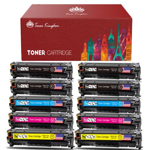 HP CE410A CE411A CE412A CE413A 305A Toner Cartridge Set Pro 400 M451 M475