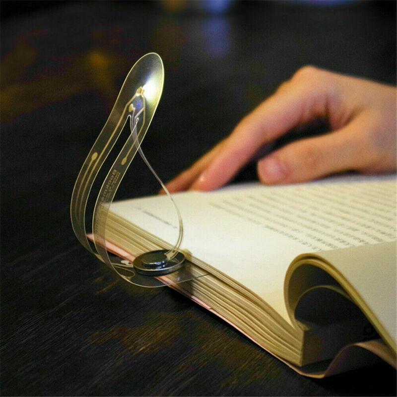 Ultrathin Book Reading Light LED Bookmark Light Lamp for Night Reading