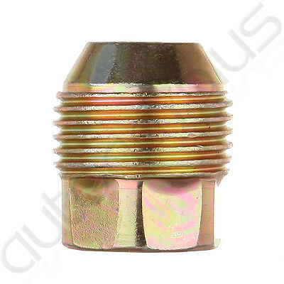 M3D61JHZC4 Single Replacement 14x1.5 Open End Lugs Nuts COMPATIBLE WITH Chevy GMC GM Factory Style
