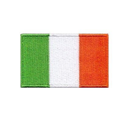 Flags Of Ireland (Flag of Ireland Iron On Patch 2.5 x 1.5 inch Free Shipping (Small) World)