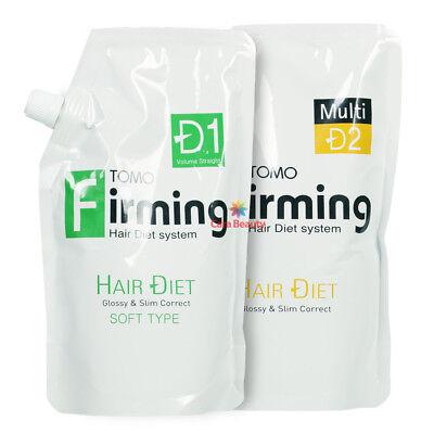 [Rebonding] TOMO Firming Hair Diet System [SOFT] 500ml+500ml for Damaged hair