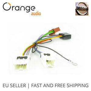 wiring lead harness adapter for nissan x trail 2005 iso stereo adaptor ebay