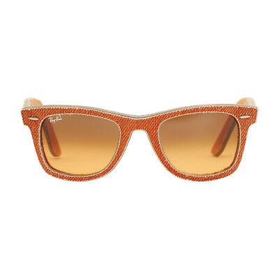 Ray-Ban Wayfarer Acetate Frame Orange Gradient Lens Unisex Sunglasses RB2140