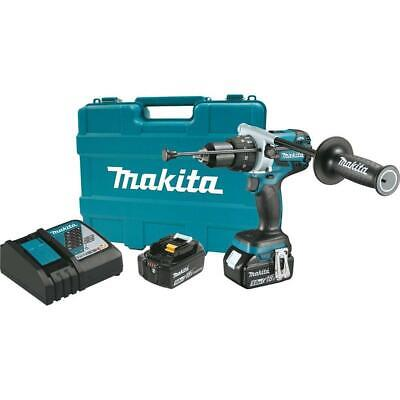Makita Xph07tb 18-volt Lxt 12 Brushless Cordless Hammer Drill Kit Battery Case
