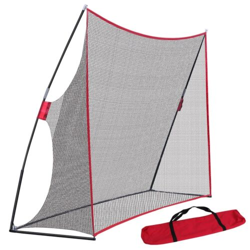 10 X 7 Golf Net Practice Golf Large Hitting Area Great for Year Around Portable Golf