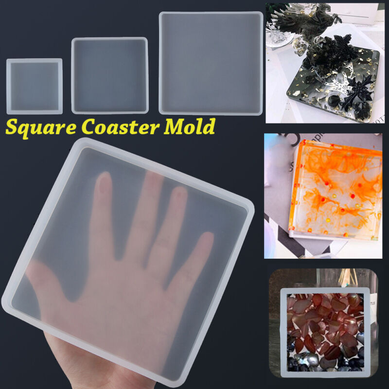 Agate Coaster Mold Jewelry Making Mould Epoxy Resin Casting
