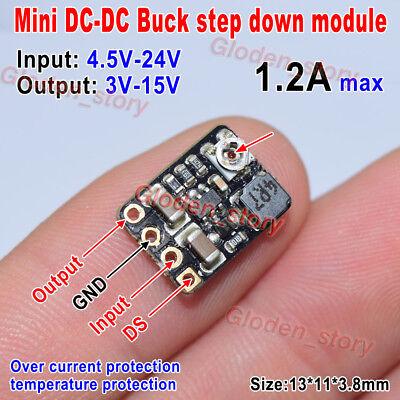 1.2a Dc-dc Buck Step-down Converter Volt Regulator 4.5v-24v To 3v 3.3v 5v 9v 12v
