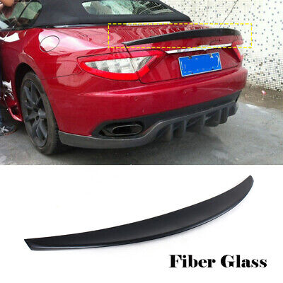For Maserati GranTurismo Convertible 12-14 Rear Trunk Lid Spoiler Boot Wing FRP