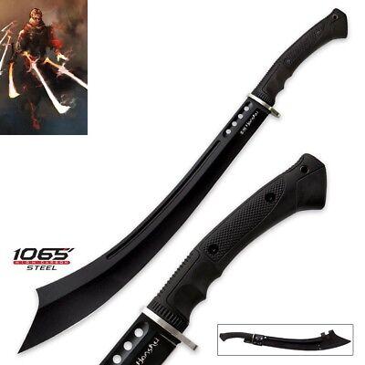 (High Carbon 1065 Steel Black Arabian Scimitar Curved Blade Razor Sharp war sword)