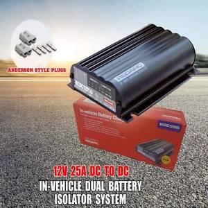 Redarc BCDC1225D Dual Battery Charger DC To DC Solar MPPT Regula Wangara Wanneroo Area Preview