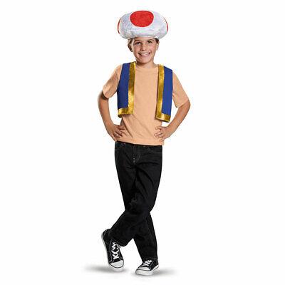 Child Super Mario Toad Halloween - Toad Super Mario Kostüm