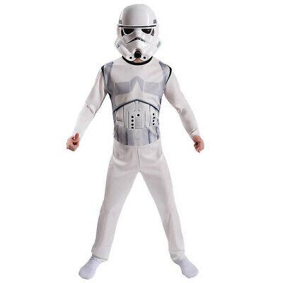 OFFICIAL LICENSED STAR WARS STORM TROOPER BLISTER FANCY DRESS SET COSTUME (Stormtrooper Outfits)