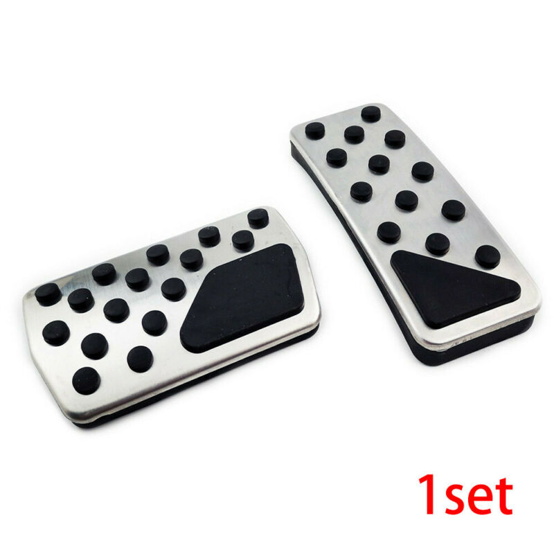 Brake Gas Pedal For 2011-2018 Jeep Grand Cherokee WK2 Parts Non-slip Pads Covers