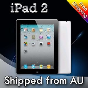 Apple iPad 2 16GB, Wi-Fi+3G 9.7in - Black Tablet seller refurbished Agrade
