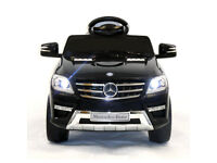 Mercedes ML350 6V Electric Ride on Kids Car with Remote - Black