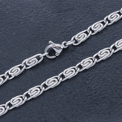 Stainless Steel Anklets T and CO Chain Ankle Bracelet 3.4 mm 9 Inch SSA015-9 ()