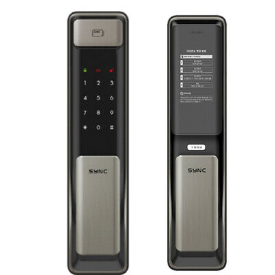 SOLITY SP-2000 Push Pull Digital Door Lock Key Less Electronics