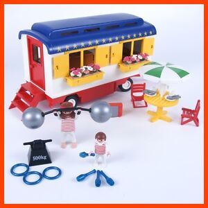 Playmobil® 3728 Circus Romani Strongmans Trailer Caravan | eBay