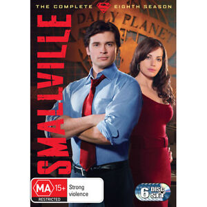 SMALLVILLE SEASON 8 = NEW R4 DVD