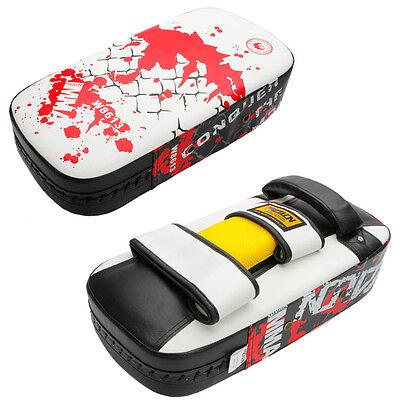Muay Thai Karate MMA Taekwondo Boxing Kick Punching Bag Pad Foot Target Shield