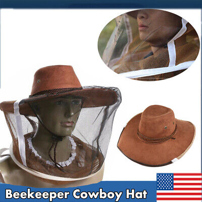 Natural Cotton Beekeepers Hat Veil Bee Protection During Beehive Power