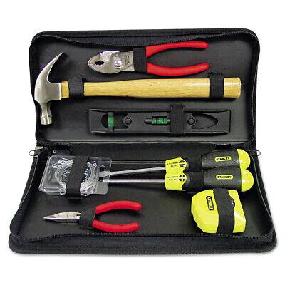 Bostitch General Repair 8pc Tool Kit W Water-resistant Black Case 92680 New
