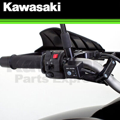 NEW 2010 - 2016 GENUINE KAWASAKI VERSYS 650 HEATED GRIP KIT 99994-0193, used for sale  Shipping to South Africa