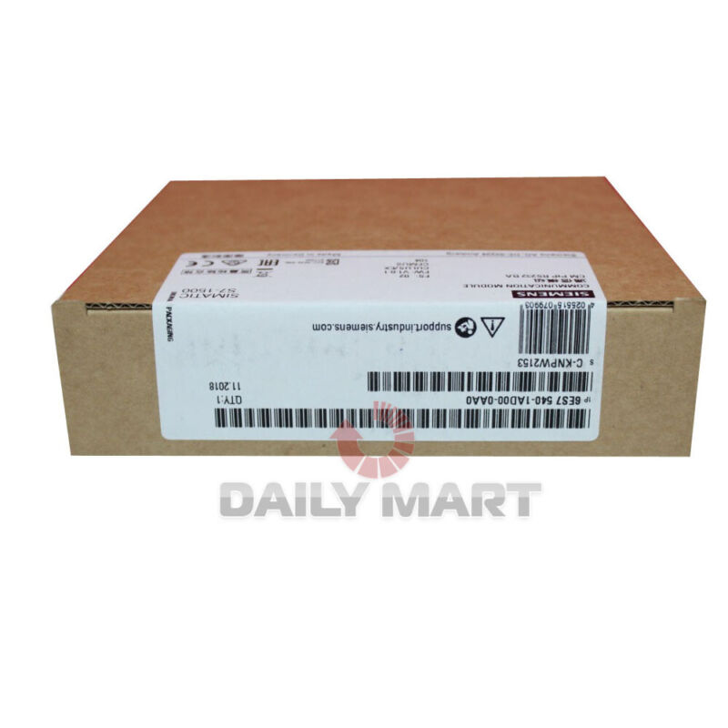 New In Box SIEMENS 6ES7 540-1AD00-0AA0 SIMATIC S7-1500 Communication Module