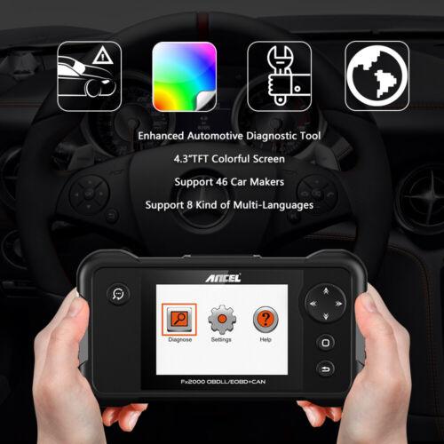 Owner Check Engine Transmission ABS SRS Airbag Code Reader OBD2 Scanner Diagnostic