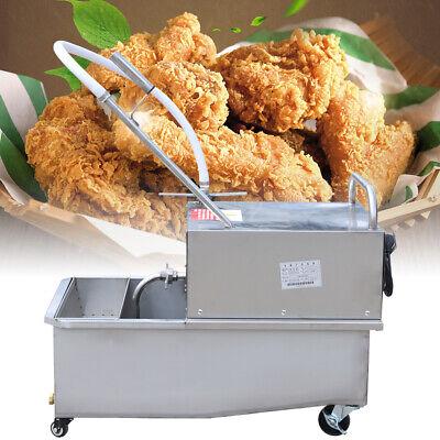 55l Oil Filter Machine Portable Fryer Oil Filter Cart Machine Filtration System