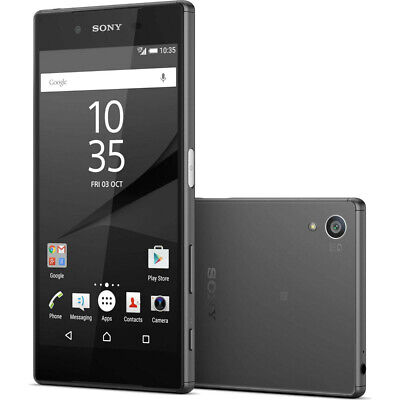 New Sony Xperia Z5 E6653 32GB GSM Unlocked 23MP Android Smartphone Black