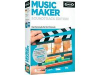 Music Maker Soundtrack Edition PC (Boxed as new)