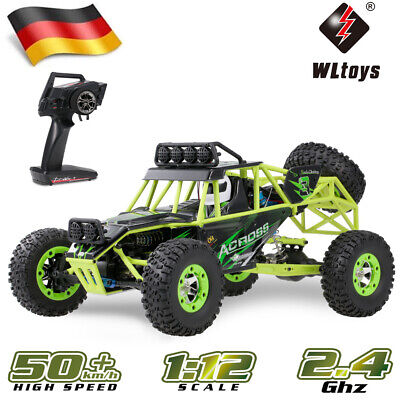 Wltoys 1/12 4WD 2.4G Elektro-Brushed RC Auto Buggy Offroad Crawler Truck Car DHL