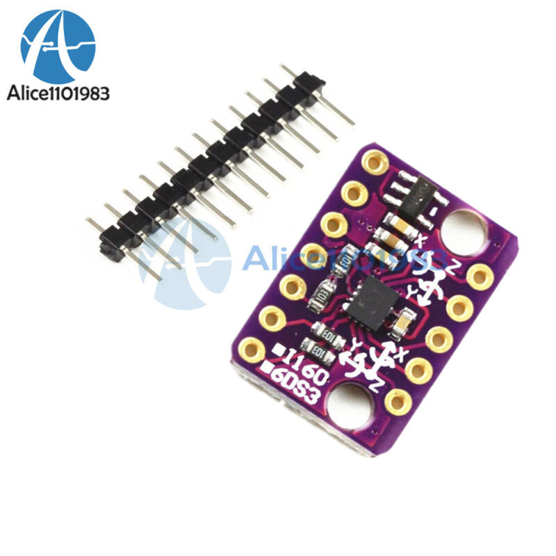 6-axis Rate Gyro BMI160 6DOF Gravity Accelerometer Sensor Module IIC SPI