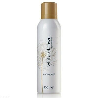 WHITE to BROWN Self Tanning Mist Sunless Fake Tan Spray (200ml)
