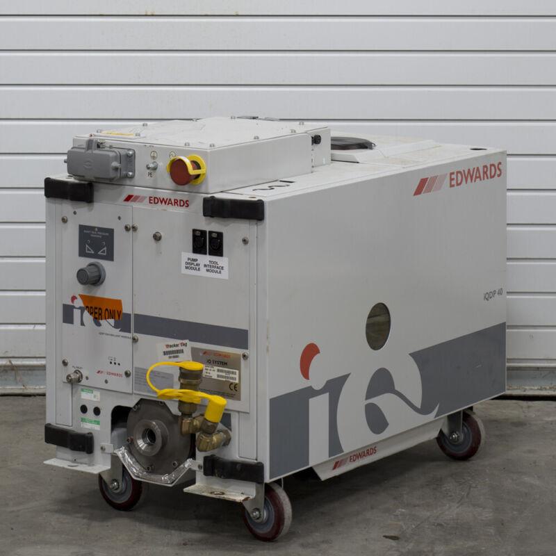 Edwards iQDP40 Dry Vacuum Pump Locked/Clean 996253295