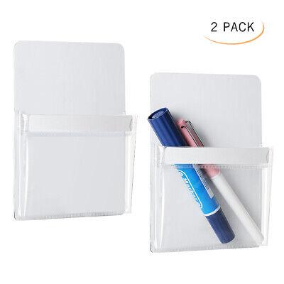 Magnetic Pencil Cup Holder-refrigerator Storage Pocket For Pen Pencils Magnetic