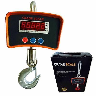 500kg Digital Hanging Scale Crane Scale Heavy Duty Industrial Weight Measure