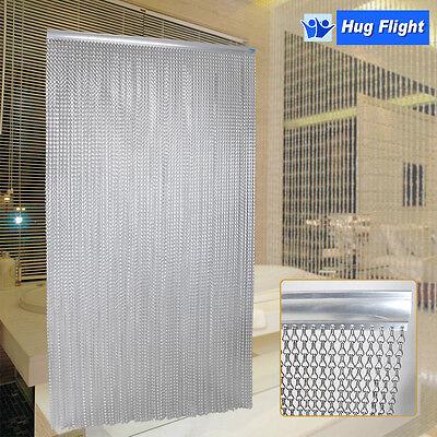 Hug Flight Metal Aluminium Chain Fly Pest Insect Door Screen Curtain Control