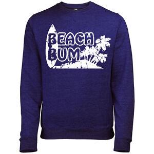 BEACH-BUM-MENS-BRITISH-SEASIDE-SUMMER-PRINTED-SWEATSHIRT-JUMPER