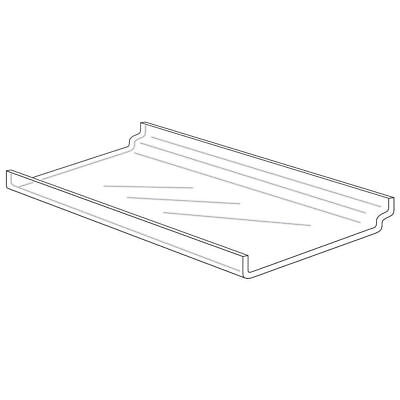 Slatwall Display Trays - 12 X 6 - Acrylic 53878