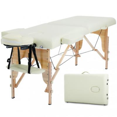 Massage Table Massage Bed Spa Bed Heigh Adjustable Salon Bed 73 Inch Portable Health & Beauty